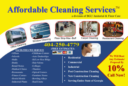 advertising carpet cleaning postcards
