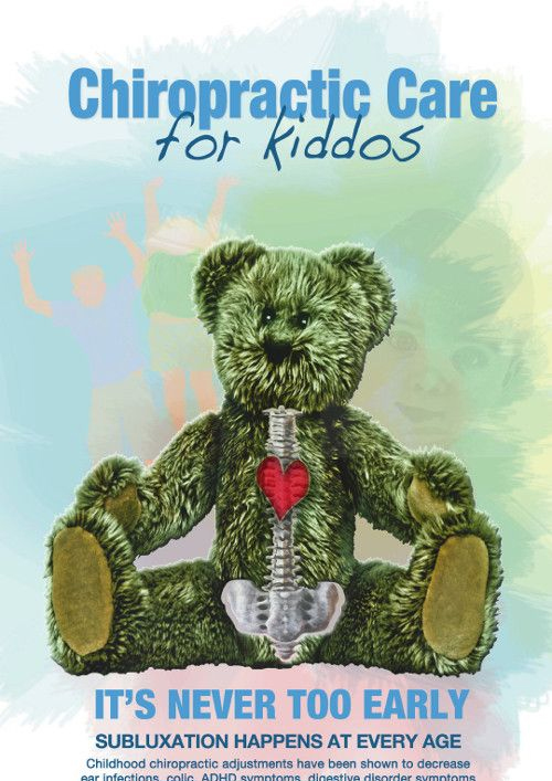 chiropractic for kids flyer
