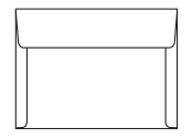 Document envelope sizes