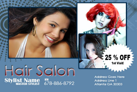 beauty salon flyer design a1