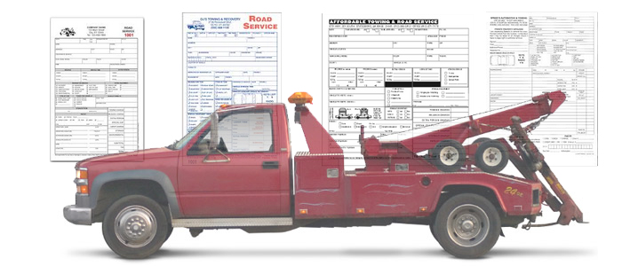 Towing Receipts