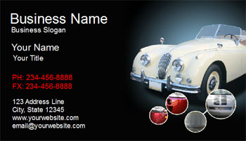 auto service business cards