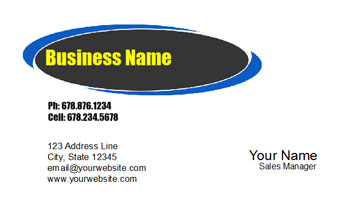 tire shop business cards