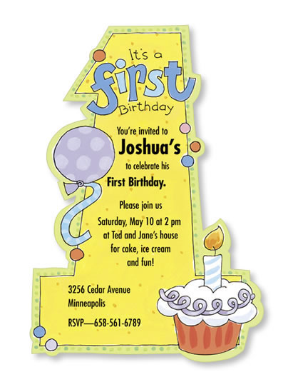 custom birthday shaped psocards