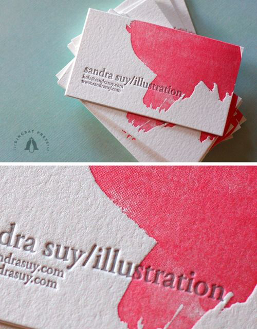 High quality business card texture