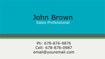 Personal Business Cards For Job Seekers Business Card