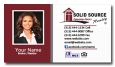 solid source realty business card