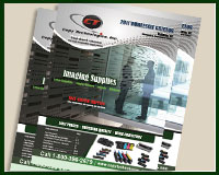 catalog designed for ink cartridge company