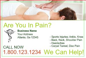 [Image: checkout with Chiropractor Postcard Design]