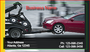 [Image: Tow Business card]