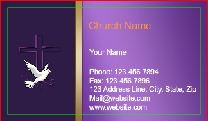 [Image: Christian Business Cards]