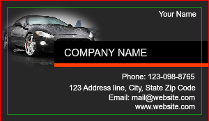 [Image: Auto Detail Business Cards]