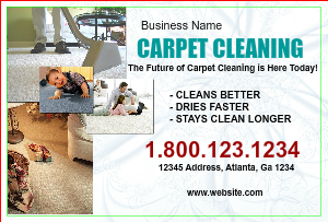 [Image: Carpet Cleaning Postcard]