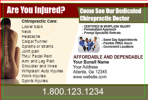 [Image: checkout with Chiropractor postcard templates - 123]