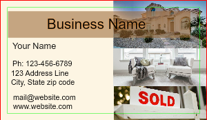 [Image: Home Staging Business Card]