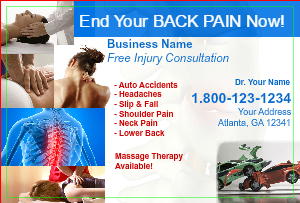 [Image: Chiropractor Marketing Postcard]