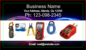 [Image: Electrical Business Card]