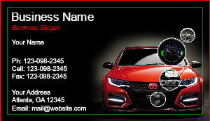 [Image: Honda Business Card]