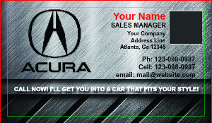 [Image: Auto Dealer Business Cards]