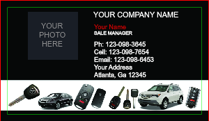 [Image: Acura Business Card Design]