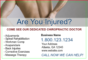 [Image: checkout with Chiropractic Postcard Design Online]