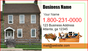 [Image: checkout with Handyman Business Card Design]