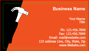 [Image: Handyman Business Cards]