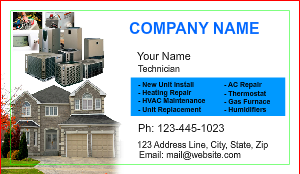 [Image: checkout with HVAC Business card Printing]