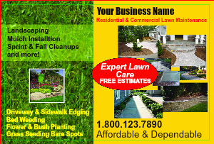 [Image: Lawn Care Flyer Template]