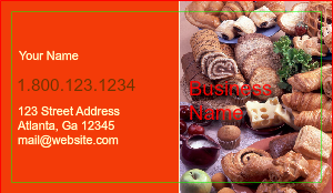 [Image: Bakery Business Cards Template]