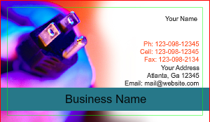 [Image: Design Electrical Business Card Online]