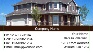 [Image: Real Estate Agent Business Card]