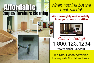 [Image: Carpet Cleaning Postcards]