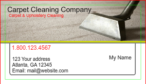 [Image: Hosue Cleaning & Maid Business card]