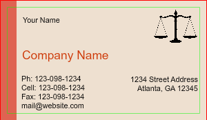 [Image: Attorney Business Card Design]