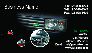 [Image: checkout with Auto Dealer Business Card Template]