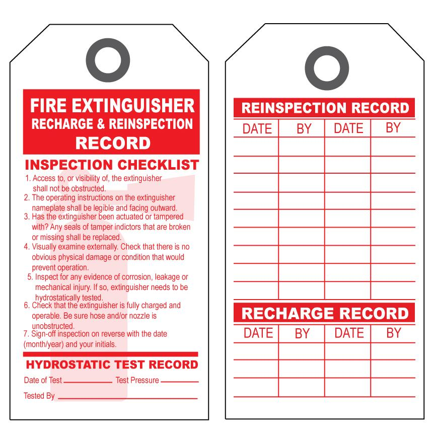 [Image: Repair & Inspection Tags]