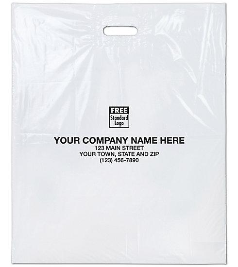 [Image: Custom Printed Plastic Shopping Bags Supplies & Packaging]