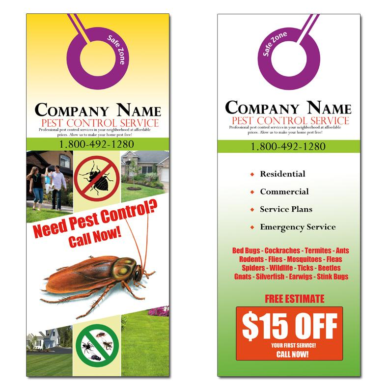 Door Hanger | Custom Door Hangers Designs, Templates, Samples
