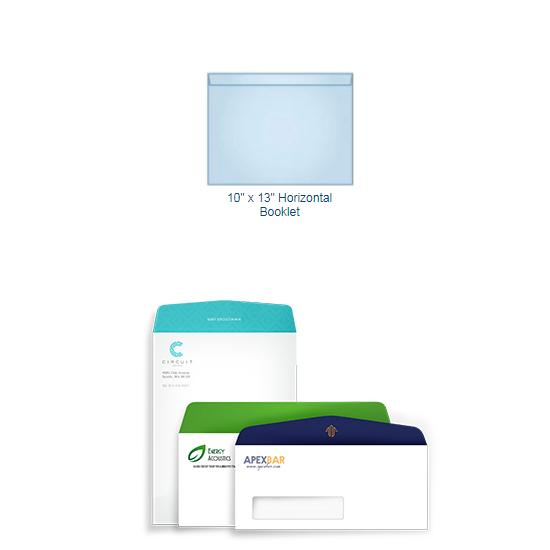 "[Image: Full Color 10"" x 13"" Horizontal Booklet Envelope - Custom Printed]"