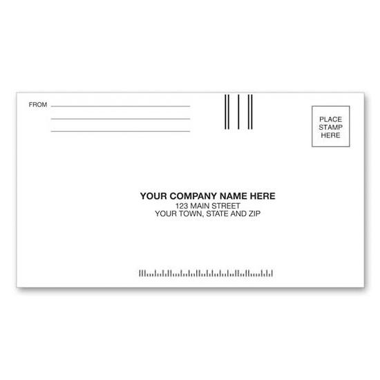 "[Image: 3 1/2 x 6 Custom Printed Envelopes | #6 1/4"" Regular Business Reply]"