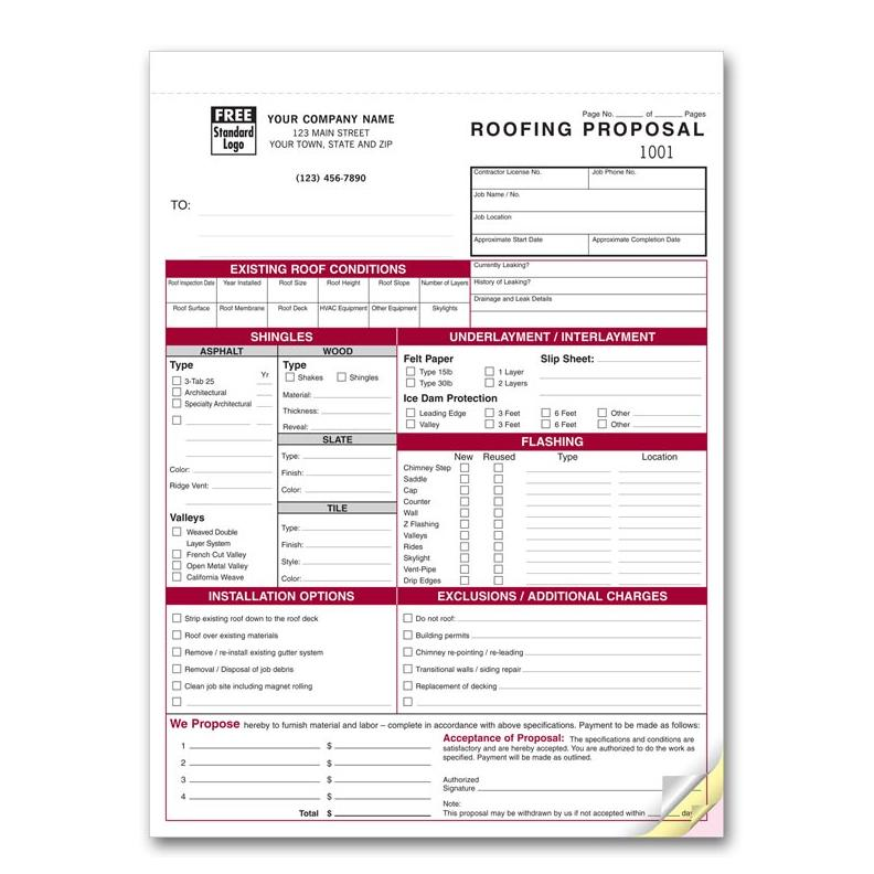 samples of invoice forms