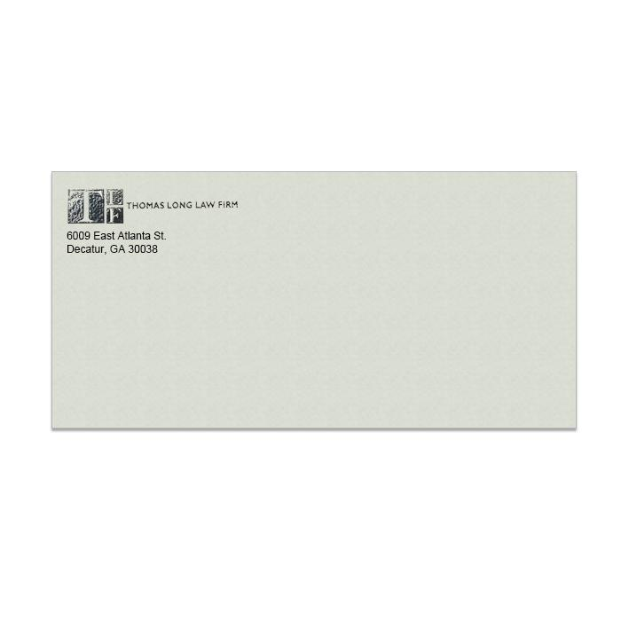 [Image: Royal Fiber Gray Envelope, Raised Ink]