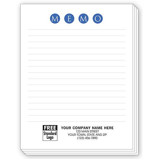 [Image: Personalized Notepads With Lines, Small]
