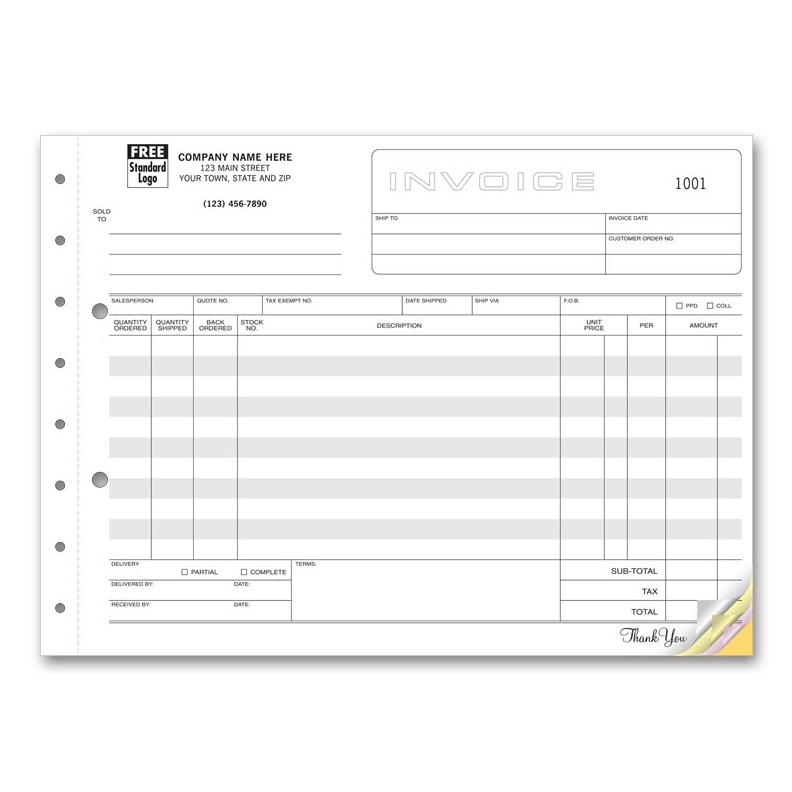 [Image: Invoice Form Large Horizontal]