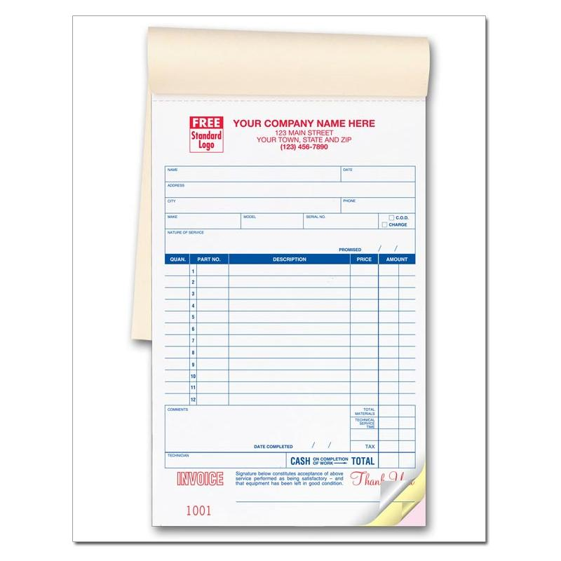 [Image: Appliance Repair Receipt Book]