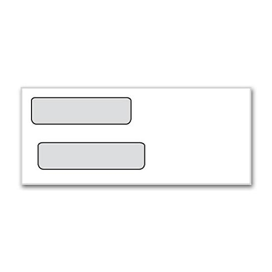 [Image: Double Window Envelope - Personal Check]