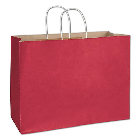 "[Image: Shopping Bag - Crimson Radiant Shoppers, 16 X 6 X 12 1/2"" - Retail Packaging]"