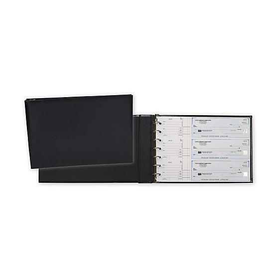 [Image: 3-On-A-Page Black Board 7 Ring Binder]