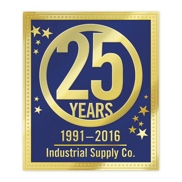 [Image: 25th Anniversary Business Stickers]